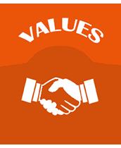 Values - Auto Components Manufacturer